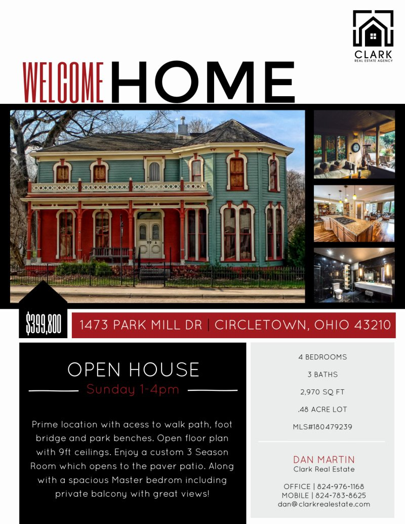 Open House Flyers Templates Best Of Wel E Home Open House Flyer Template