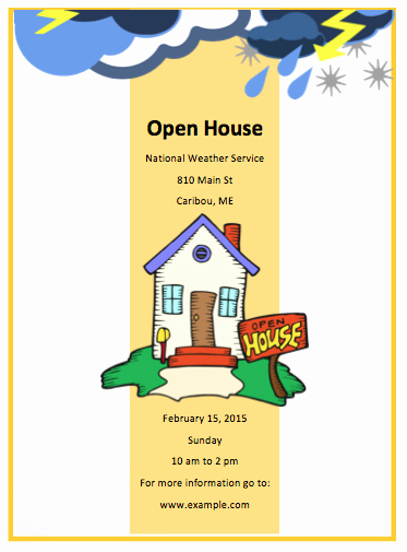 Open House Flyers Templates Inspirational 10 Open House Flyer Templates