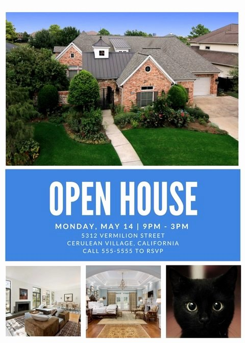 Open House Flyers Templates Inspirational Free Open House Flyer Template – Downloadable