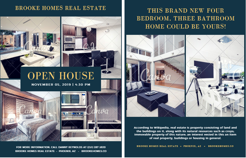 Open House Flyers Templates Luxury 15 Best Free Open House Flyer Templates