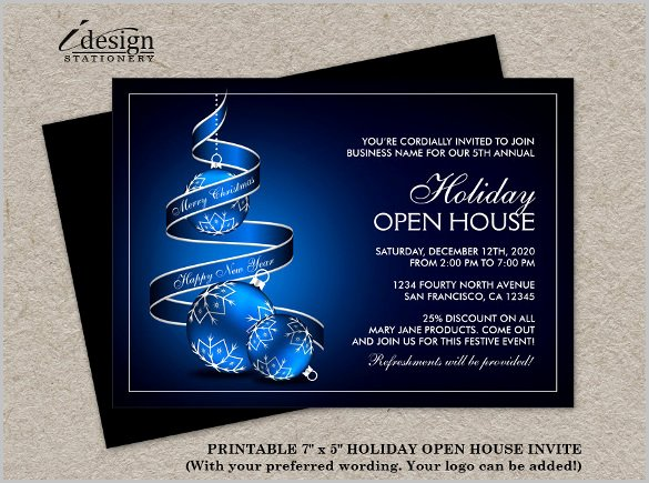 Open House Invitation Templates Beautiful 14 Open House Invitation Templates Free Psd Vector Eps
