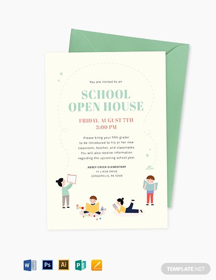 Open House Invitation Templates Best Of 19 Opening Invitation Templates Psd Ai