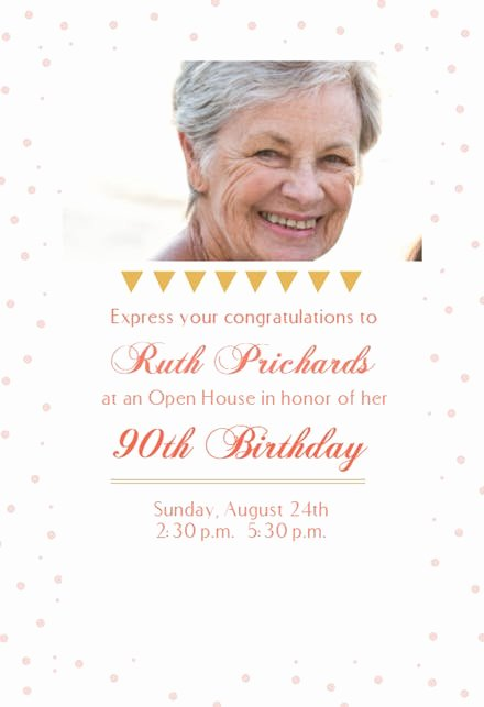 Open House Invitation Templates Fresh 90 Open House Party Birthday Invitation Template Free