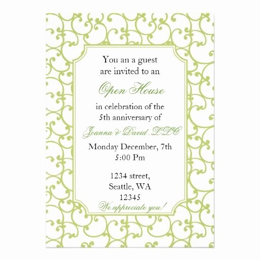 Open House Invitation Templates Fresh Elegant Corporate Party Invitation