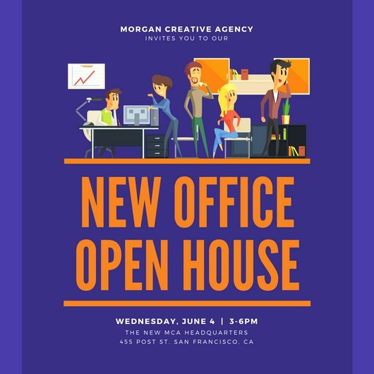 Open House Invitation Templates Inspirational Open House Invitation Templates Canva
