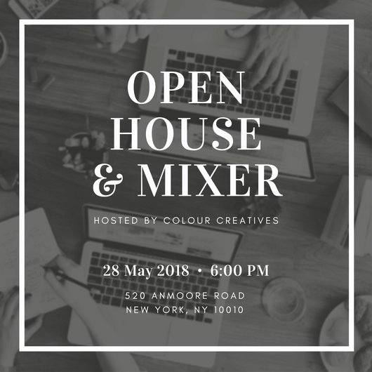 Open House Invitation Templates Lovely Open House Invitation Templates Canva