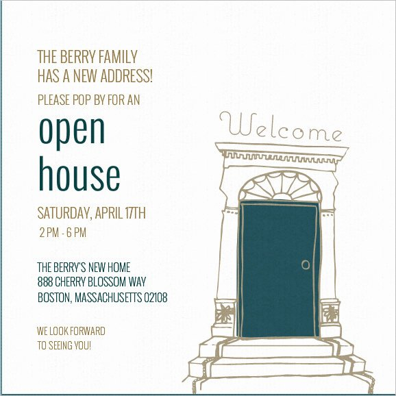 Open House Invitation Templates Luxury 37 Invitation Templates Word Pdf Psd Publisher