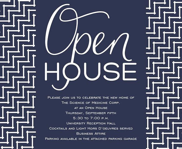 Open House Invitation Templates Luxury Halloween Open House Invitation Wording – Festival Collections