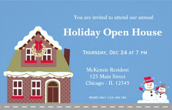 Open House Invitation Templates New 25 Open House Invitation Templates Free Sample Example