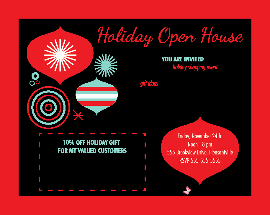 Open House Invitation Templates Unique House Party Invitation Template