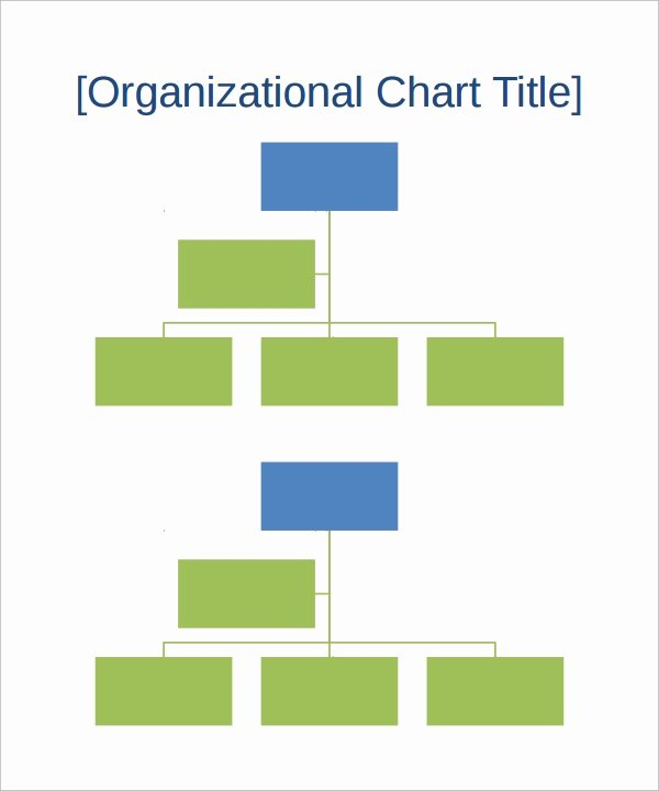 Org Chart Template Word Inspirational 17 Sample organizational Chart Templates Pdf Word Excel