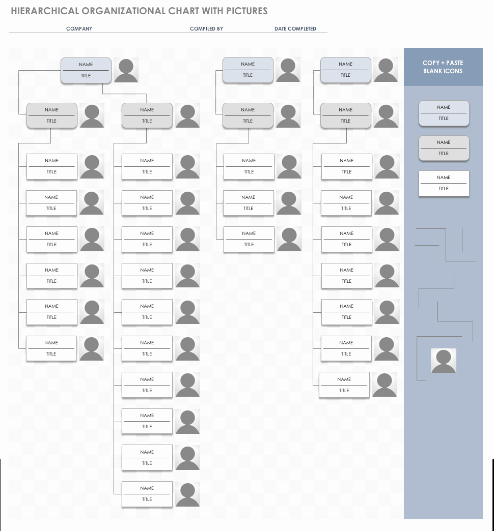 Organizational Chart Template Free Best Of Free org Chart Templates for Excel