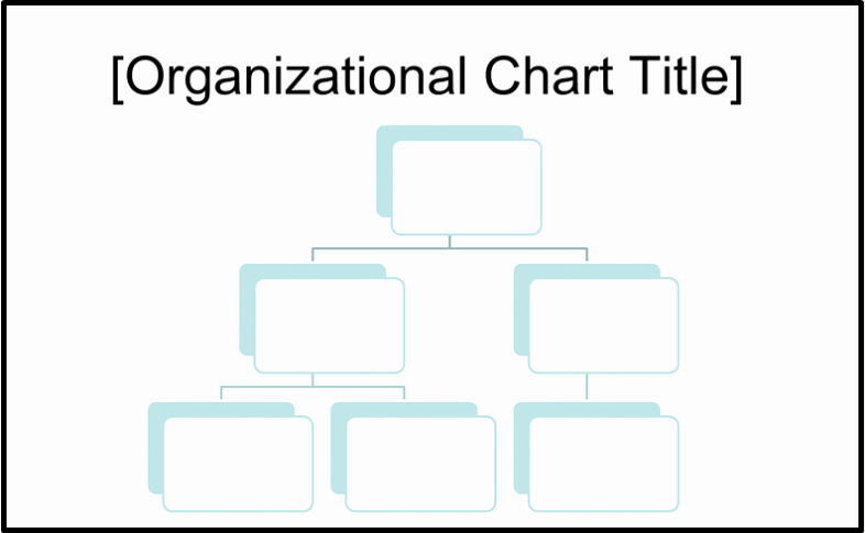 Organizational Chart Template Word New Free organizational Chart Template Word Excel
