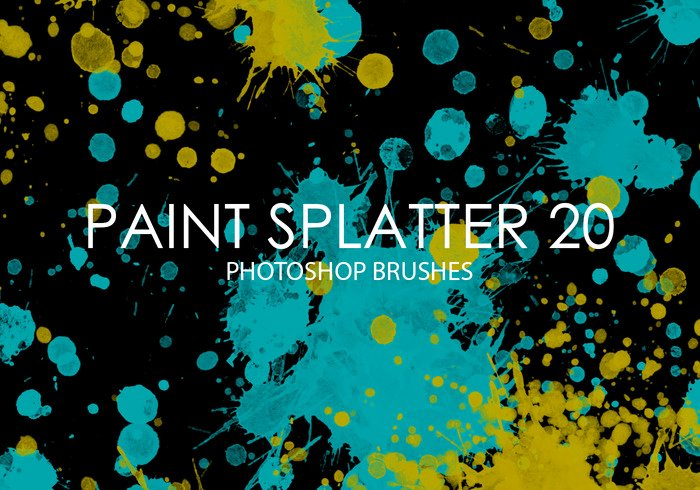 Paint Splatter Brush Photoshop Beautiful Free Paint Splatter Shop Brushes 20 Free Shop
