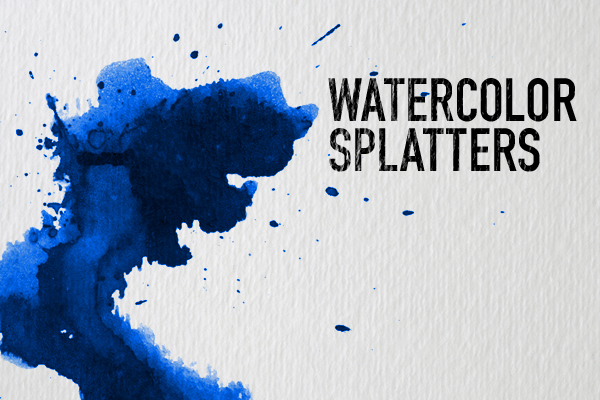 Paint Splatter Brush Photoshop Best Of Watercolor Splatters Shop Brushes Shop Tutorials