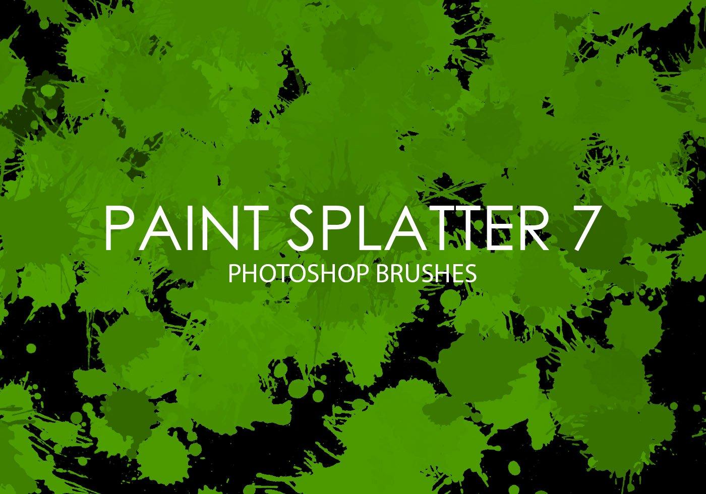 Paint Splatter Brush Photoshop Elegant Free Paint Splatter Shop Brushes 7 Free Shop