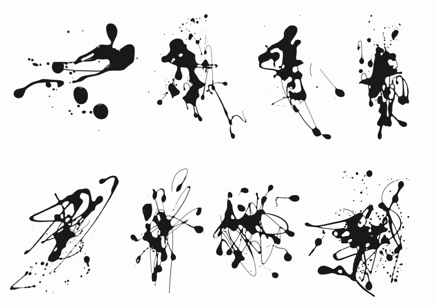 Paint Splatter Brush Photoshop Elegant Ink Splatter Brushes Pack Free Shop Brushes at