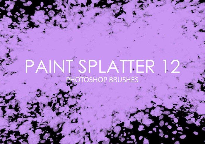 Paint Splatter Brush Photoshop Fresh Free Paint Splatter Shop Brushes 12 Free Shop