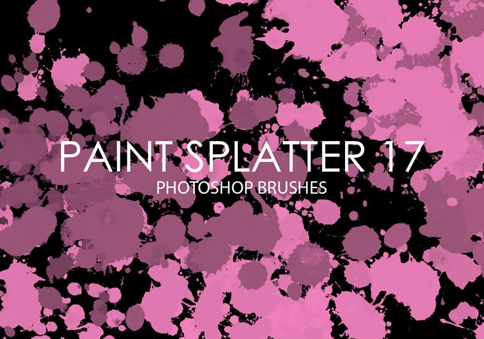 Paint Splatter Brush Photoshop Inspirational Free Paint Splatter Shop Brushes 17 Free Shop
