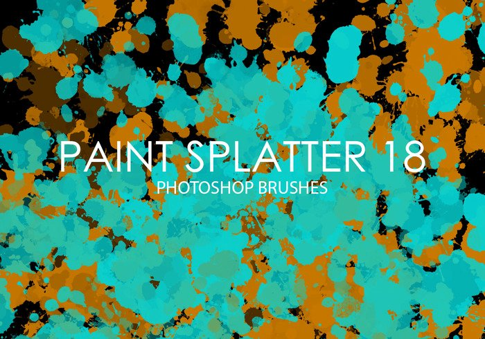 Paint Splatter Brush Photoshop Lovely Free Paint Splatter Shop Brushes 18 Free Shop