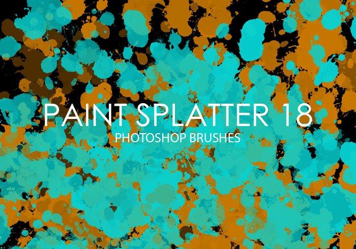 Paint Splatter Brush Photoshop Lovely Free Paint Splatter Shop Brushes 18 Free Shop