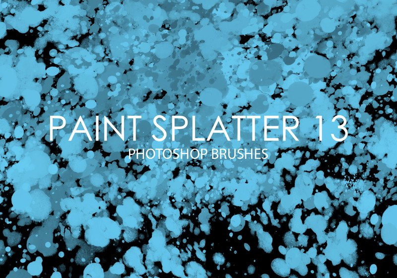 Paint Splatter Brush Photoshop Lovely Free Shop Brushes