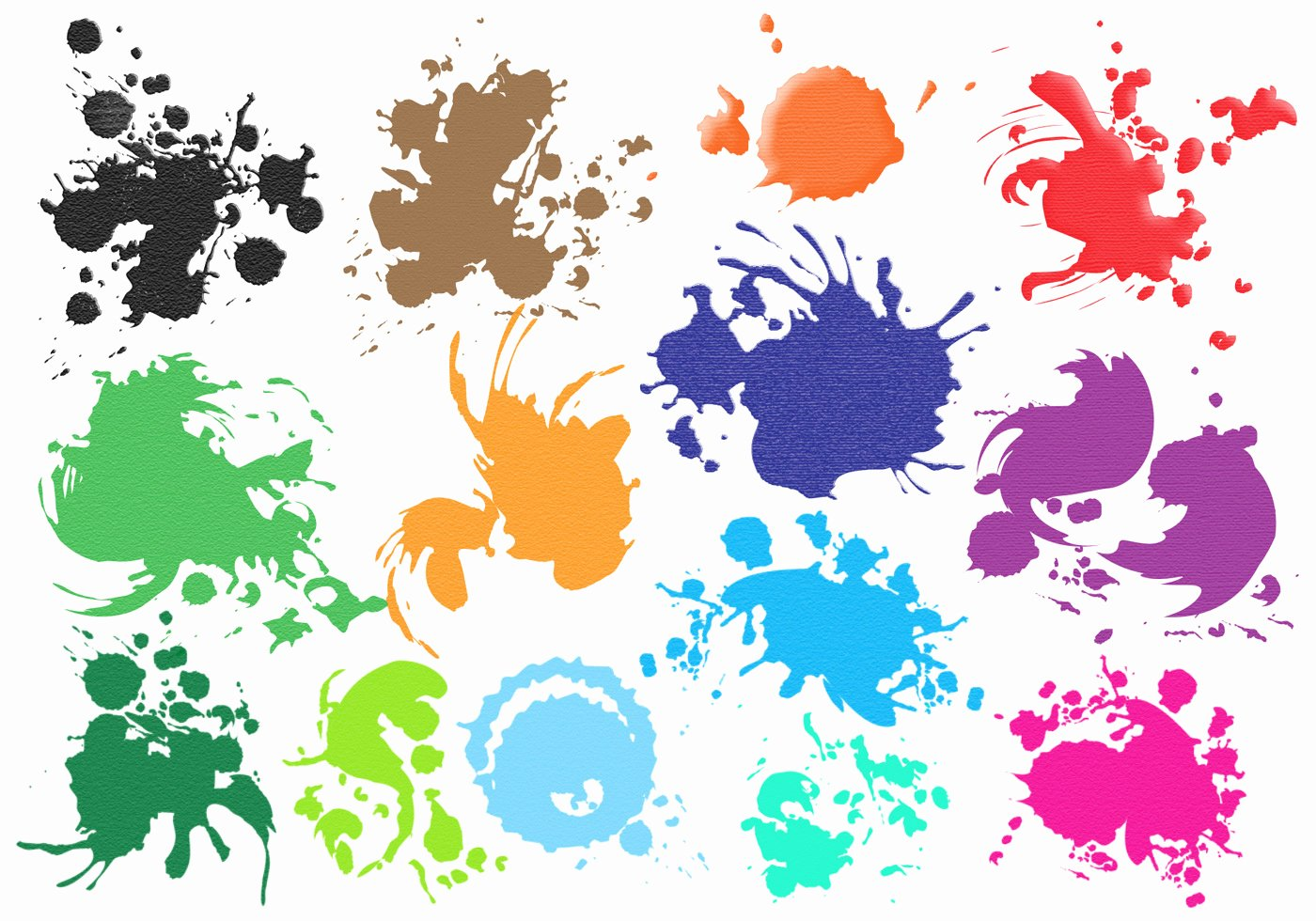 Paint Splatter Brush Photoshop Luxury Splatters Brush Set Free Shop Brushes at Brusheezy