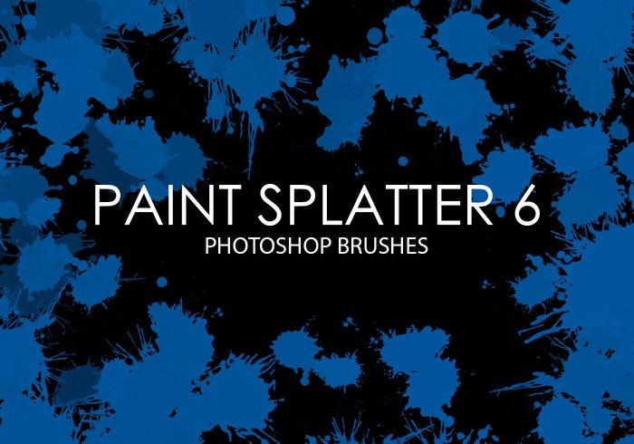 Paint Splatter Brush Photoshop New Free Paint Splatter Shop Brushes 6 Free Shop