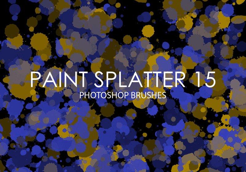 Paint Splatter Brush Photoshop New Free Shop Brushes