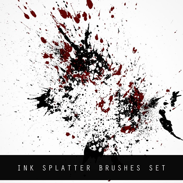 Paint Splatter Brush Photoshop Unique 170 Amazing Paint Splatter Brushes for Shop Free