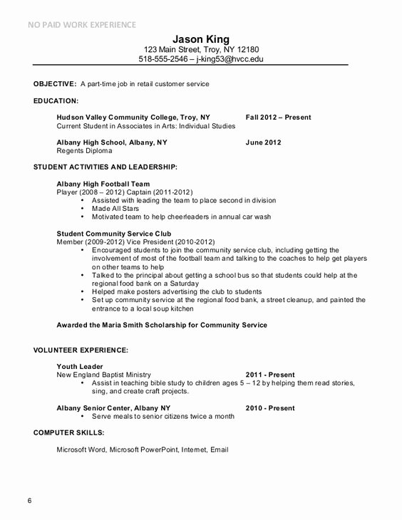 Part Time Job Resume Beautiful Basic Resume Examples for Part Time Jobs Google Search