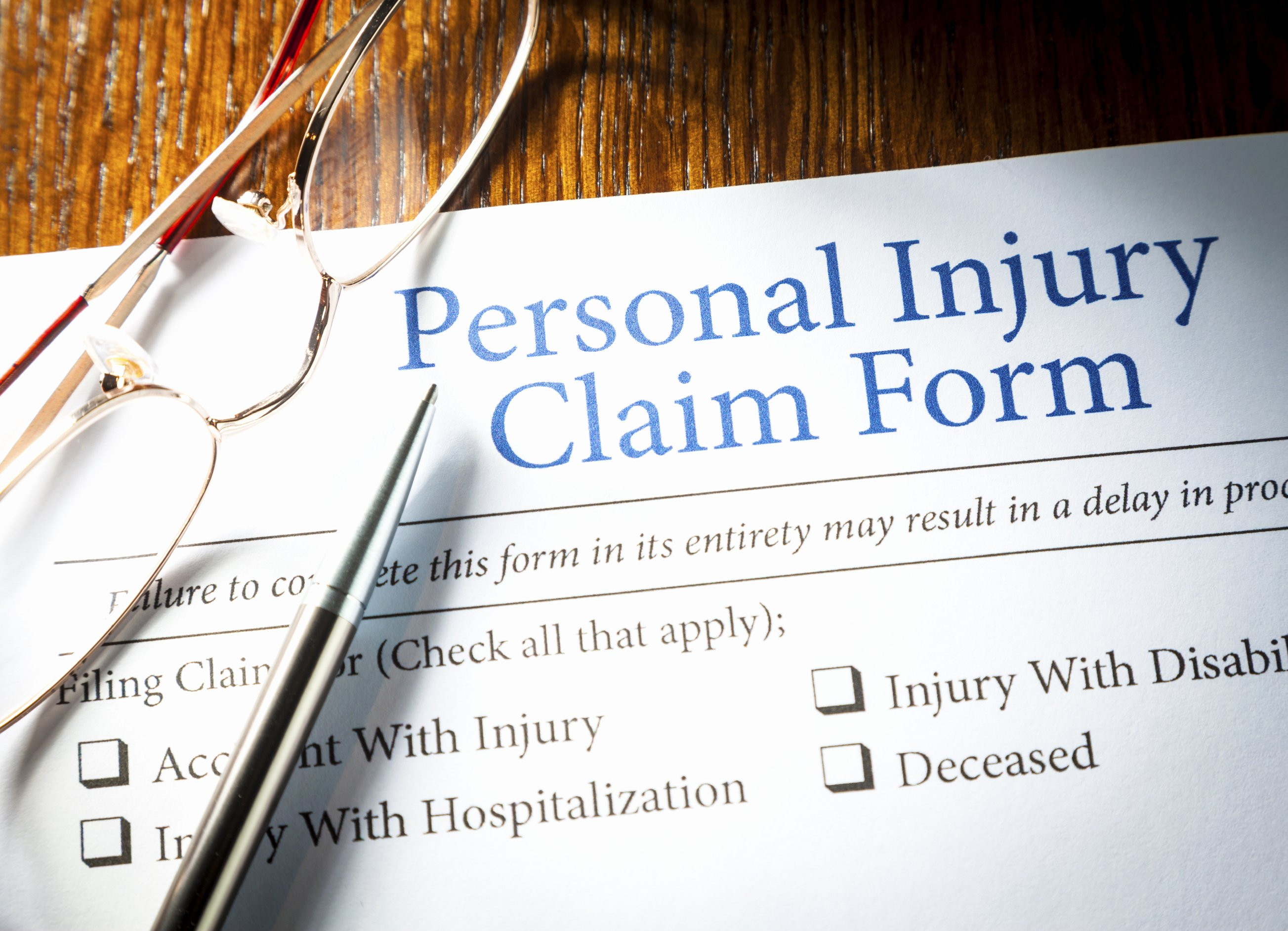 Personal Injury Waiver form Awesome Personal Injury Flagstaff Lawyers