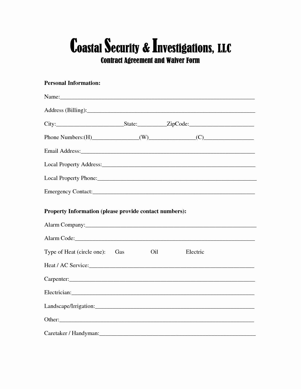 Personal Injury Waiver form Beautiful 28 Of Injury Waiver form Template