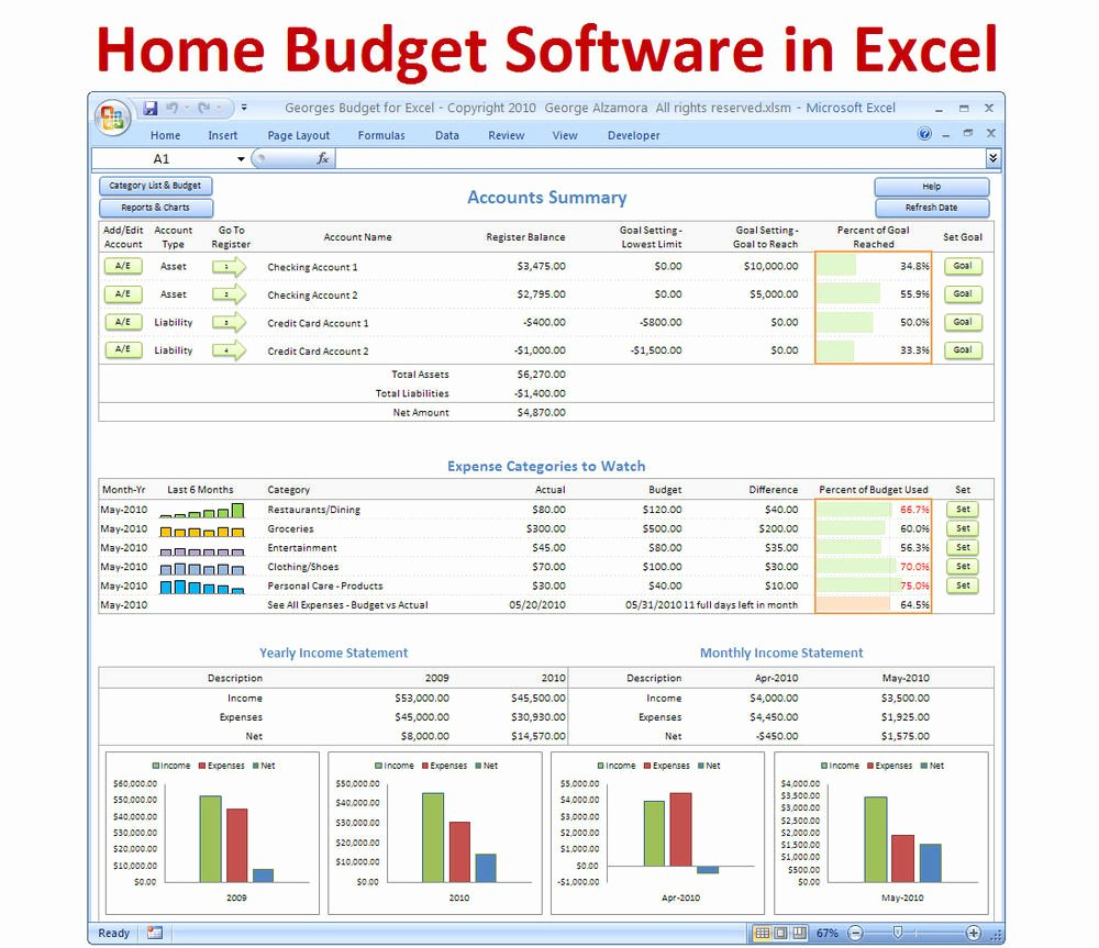 Personal Monthly Budget Template Awesome Personal Bud Ing software Excel Bud Spreadsheet