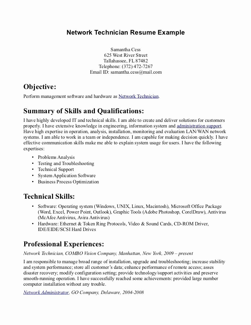 Pharmacy Tech Resume Samples Elegant Pharmacy Tech Resume Samples Sample Resumes