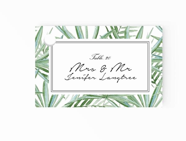 Place Card Template Word Inspirational Escort Place Cards Editable Ms Word Template Diy