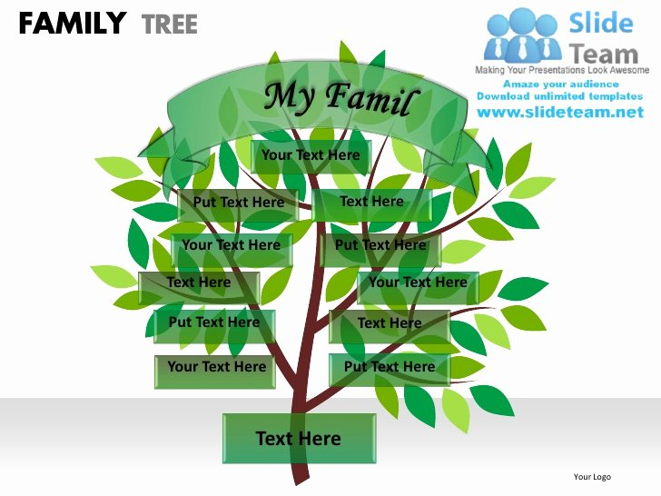 Powerpoint Family Tree Template Best Of Family Tree Powerpoint Presentation Slides Ppt Templates