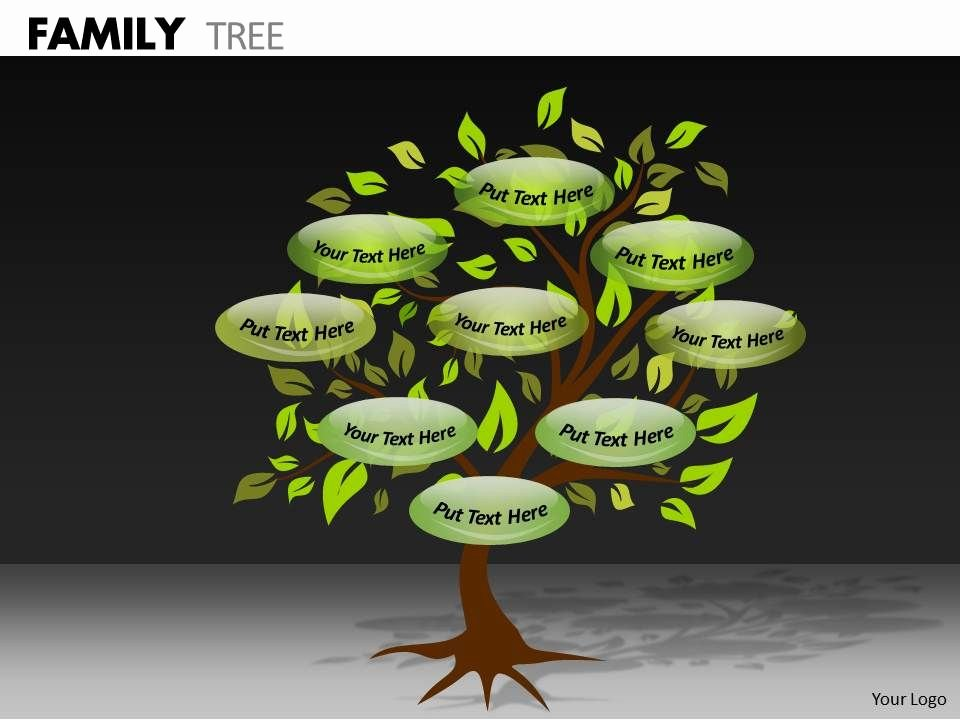 Powerpoint Family Tree Template Fresh Family Tree Ppt 4 Powerpoint Templates Designs