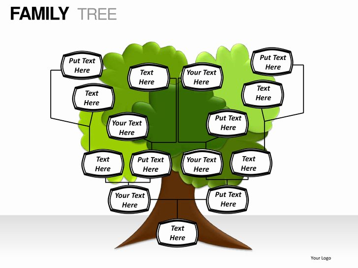 Powerpoint Family Tree Template Lovely Family Tree Powerpoint Presentation Templates