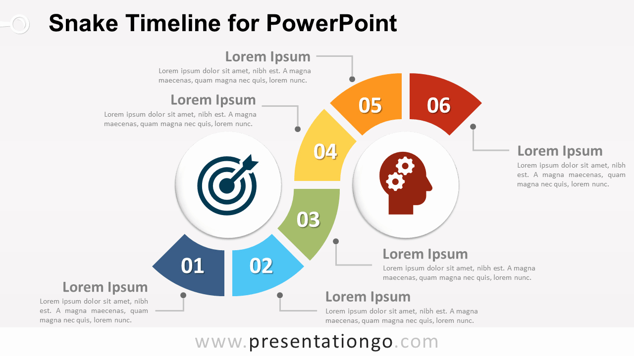 Powerpoint Timeline Template Free Awesome Free Roadmap Template