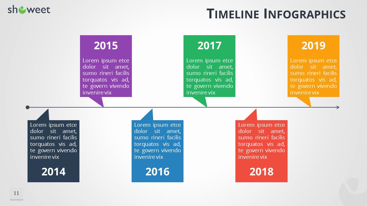 Powerpoint Timeline Template Free Awesome Timeline Infographics Templates for Powerpoint