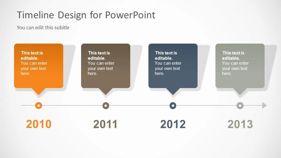 Powerpoint Timeline Template Free Fresh Timeline Template for Powerpoint Slidemodel