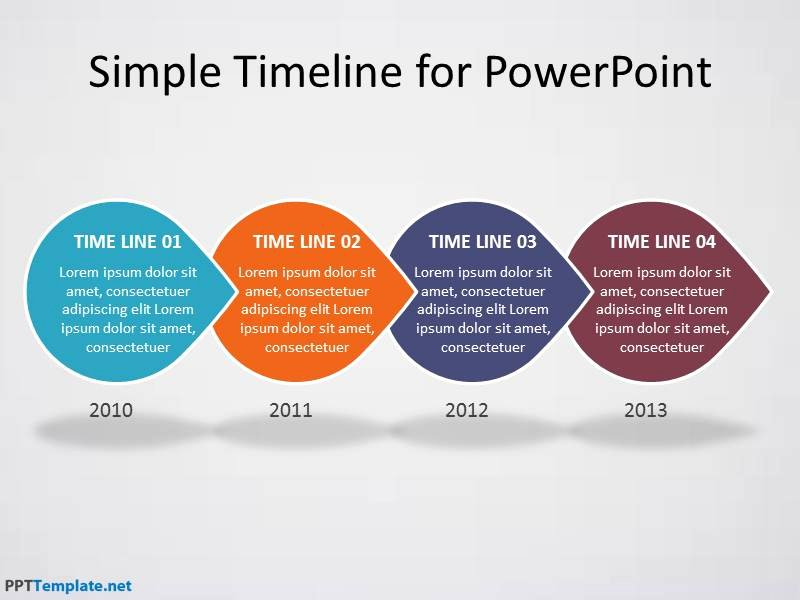 Powerpoint Timeline Template Free Lovely Free Timeline Ppt Template