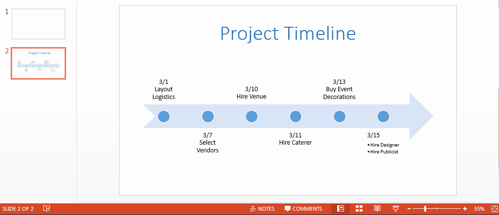 Powerpoint Timeline Template Free Luxury Free Powerpoint Timeline Template