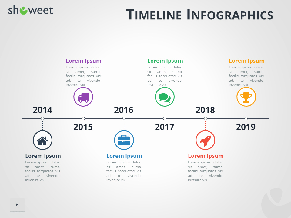 Powerpoint Timeline Template Free Unique Timeline Infographics Templates for Powerpoint