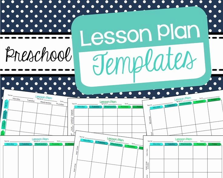 Pre Kindergarten Lesson Plan Template Unique Best 25 Preschool Lesson Template Ideas On Pinterest