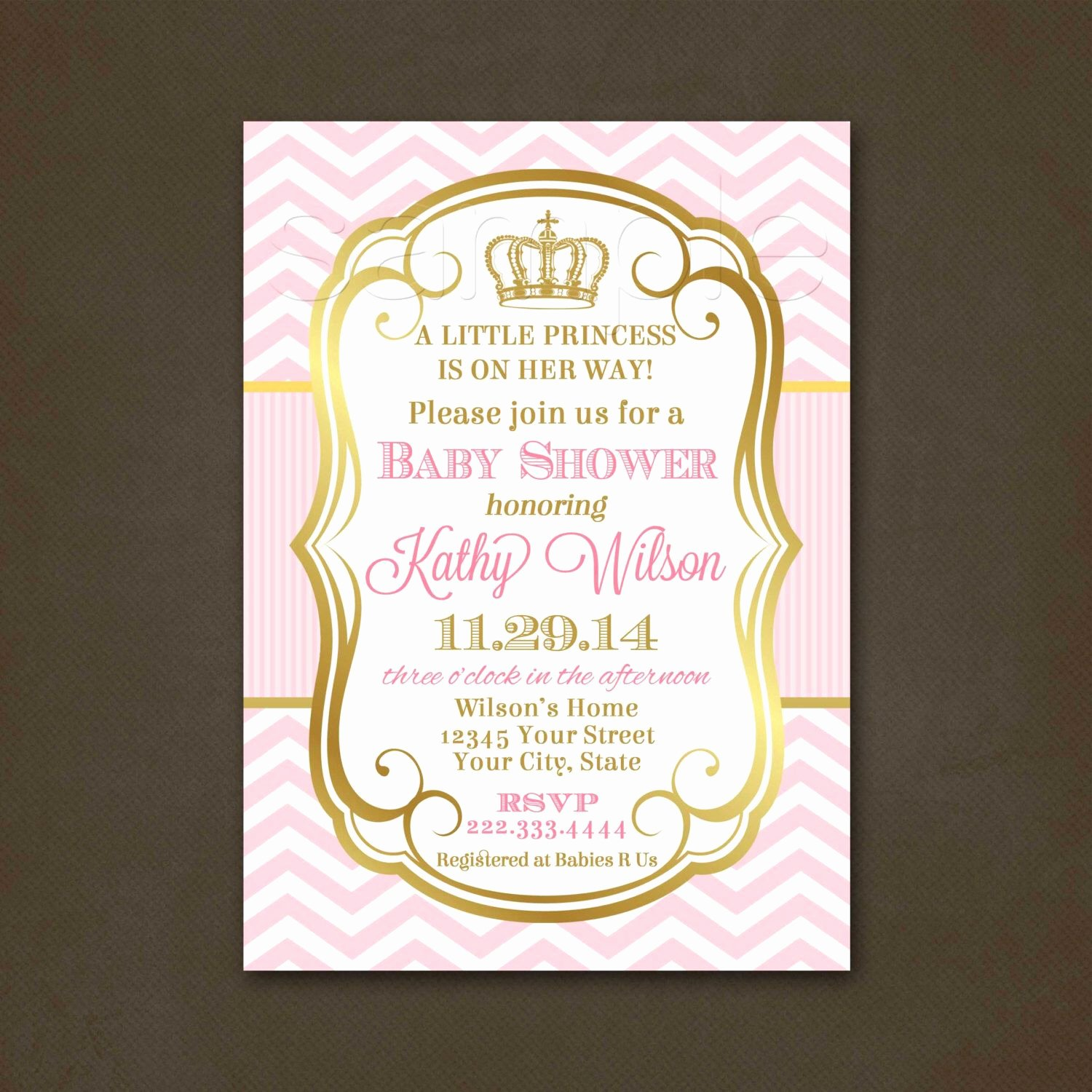 Princess Baby Shower Invitations Best Of Princess Baby Shower Invitation Baby Shower Invitation