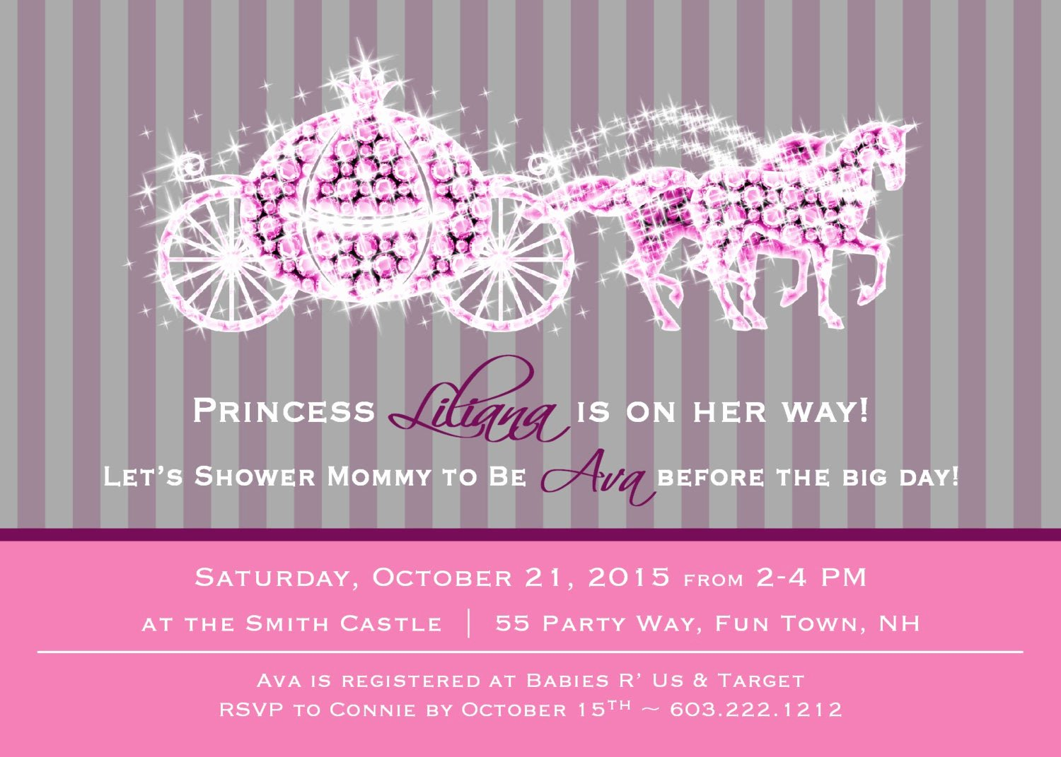 Princess Baby Shower Invitations Luxury Princess Baby Shower Invitation Girl Princess Baby Shower