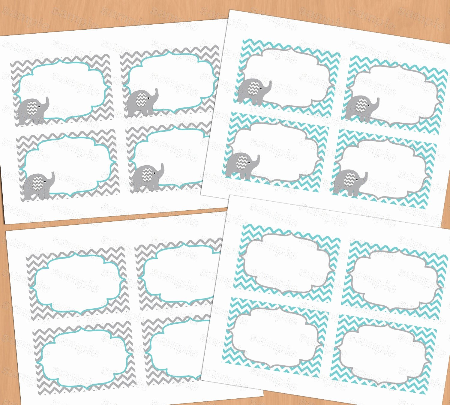 Printable Baby Shower Cards Beautiful Printable Baby Shower Food Labels Place Card Blank Place