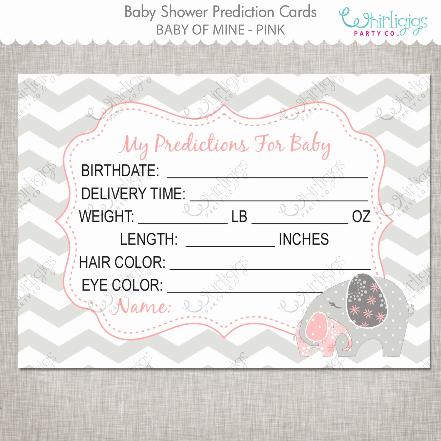 Printable Baby Shower Cards Elegant Predictions for Baby Printable Baby Shower Cards Baby